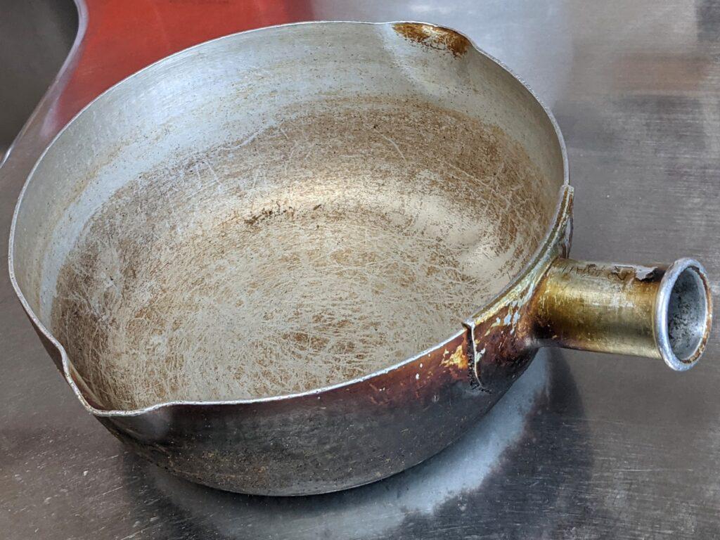 アルミ打出雪平鍋